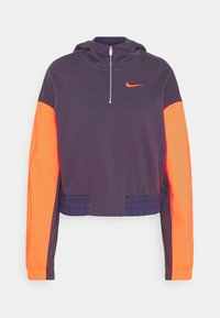 Nike Sportswear - HOODIE - Sweatshirt - dark raisin/crimson bliss/bright mango - 6