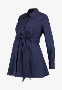 IVY & OAK Maternity - MATERNITY FLARED - Camicia - winter true blue - 3