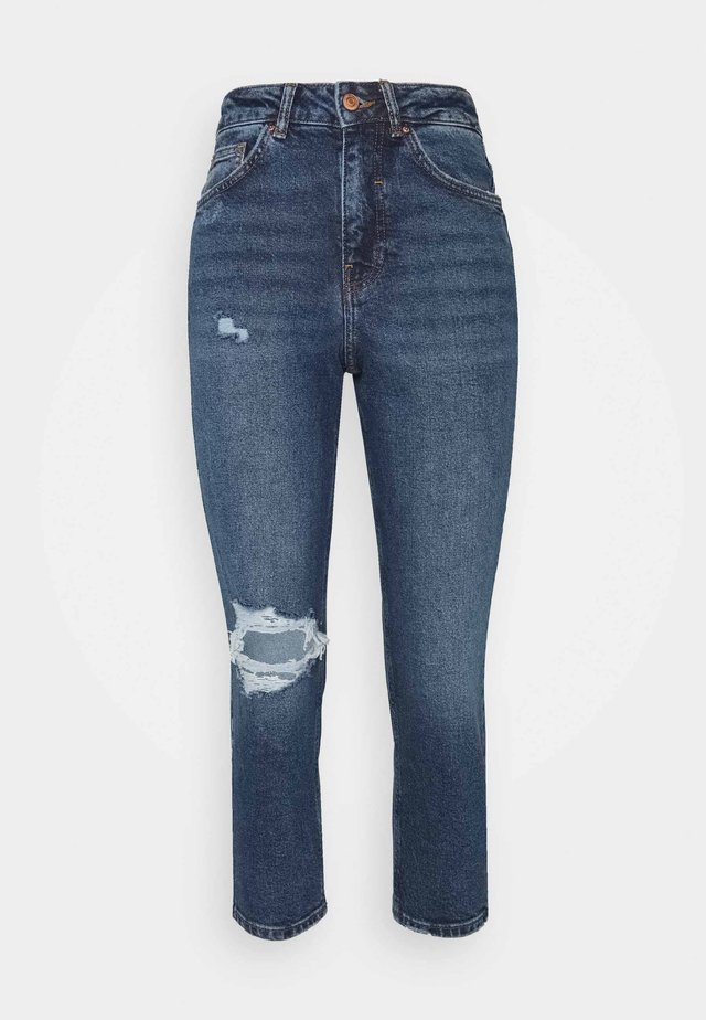 BUSTED MOM LUCIOUS - Relaxed fit jeans - blue