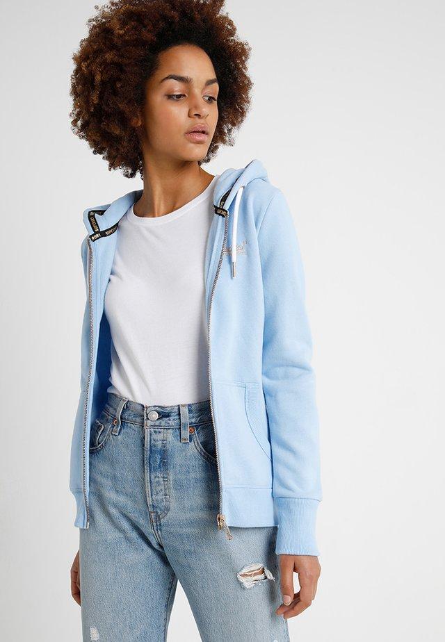 LABEL ELITE ZIPHOOD - Zip-up hoodie - elite blue