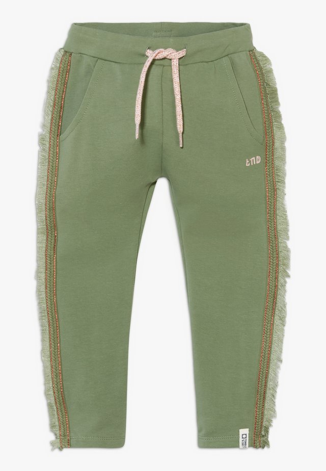 MARILOU ZGREEN - Tracksuit bottoms - hedge green