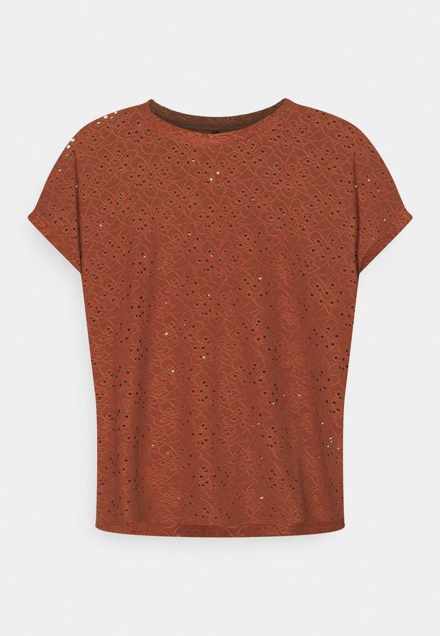 ONLSMILLA - T-shirt con stampa - henna