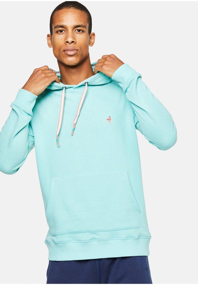 RONNY - Hoodie - turquoise