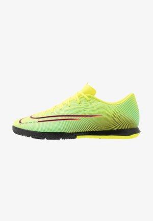 MERCURIAL VAPOR 13 ACADEMY MDS IC - Indoor football boots - lemon/black/aurora green