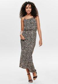 ONLY - ONLWINNER - Maxi dress - pumice stone - 1