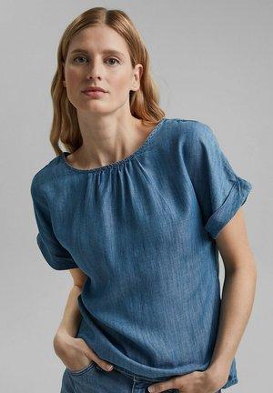 Blouse - blue medium washed