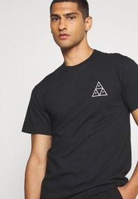 HUF - JUNGLE CAT TEE - Print T-shirt - black - 3