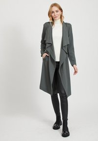 Object - OBJANNLEE  - Trenchcoat - dark green - 1