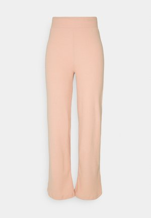 WIDE LEG  - Trousers - light pink