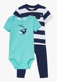 Carter's - WHALE SET - Body - navy - 0