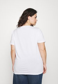 Lauren Ralph Lauren Woman - KATLIN SHORT SLEEVE - Print T-shirt - white - 2