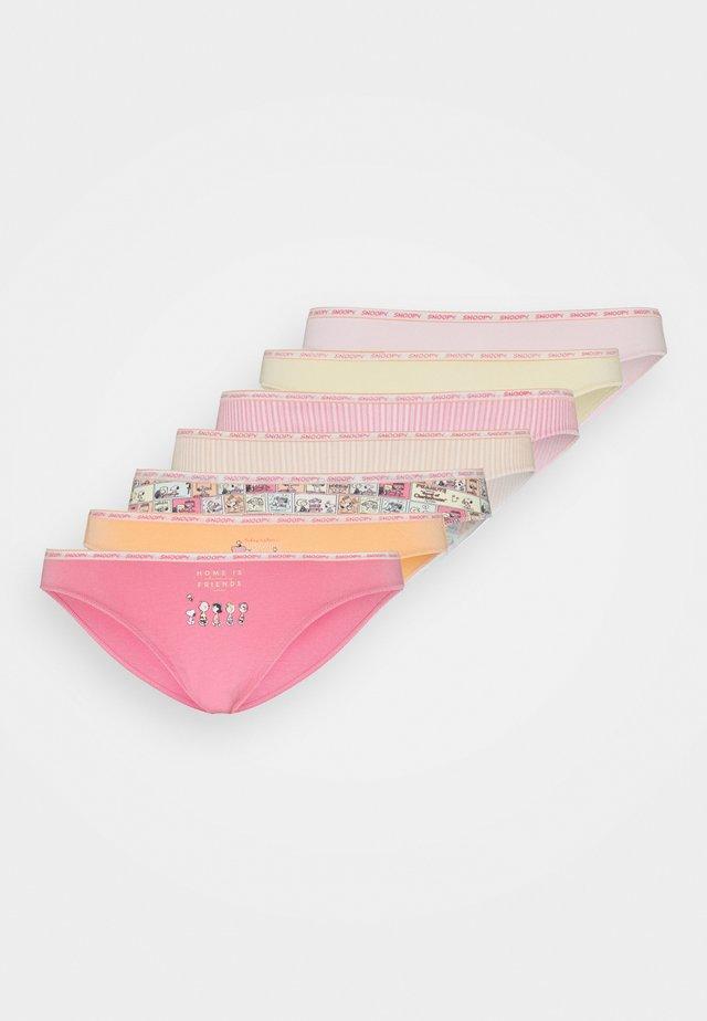 SNOOPY 7 PACK - Kalhotky - various
