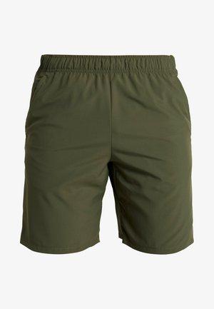 SHORT - Korte sportsbukser - cargo khaki/black