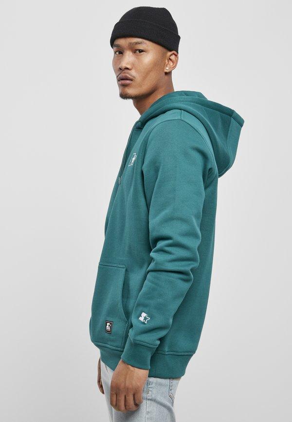Starter Bluza z kapturem - retro green/zielony Odzież Męska SWNW