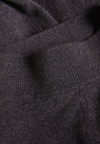 pure cashmere - LOOSE FIT PANTS - Trousers - graphite - 4