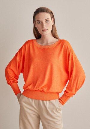 MIT WEITEM ARM - Jumper - orange - 8574 - arancio