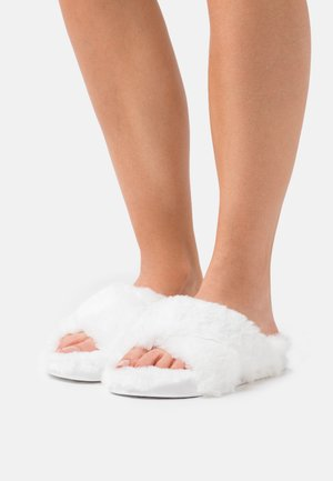 GLORIA - Slippers - white