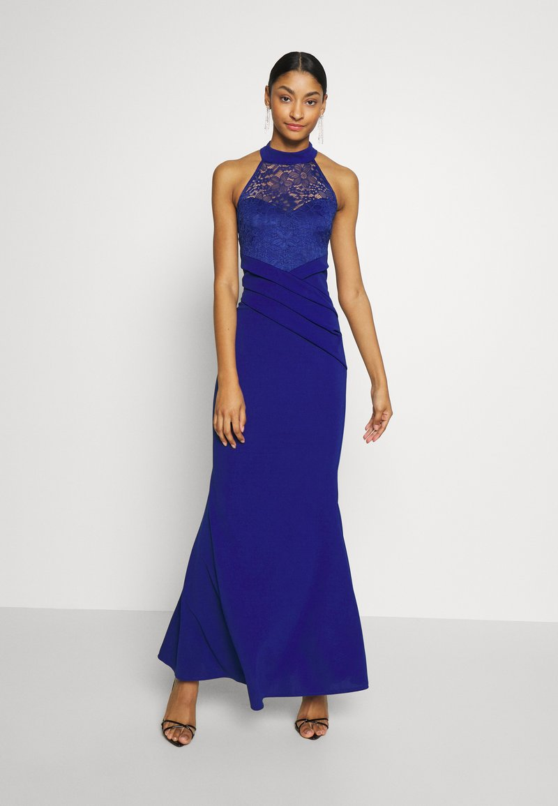 WAL G. - HALTER NECK DRESS - Vestido de fiesta - electric blue