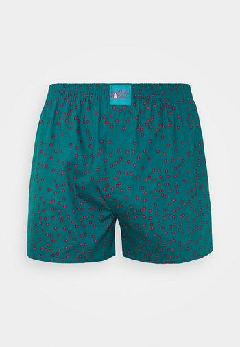 DOTS - Boxer shorts - teal