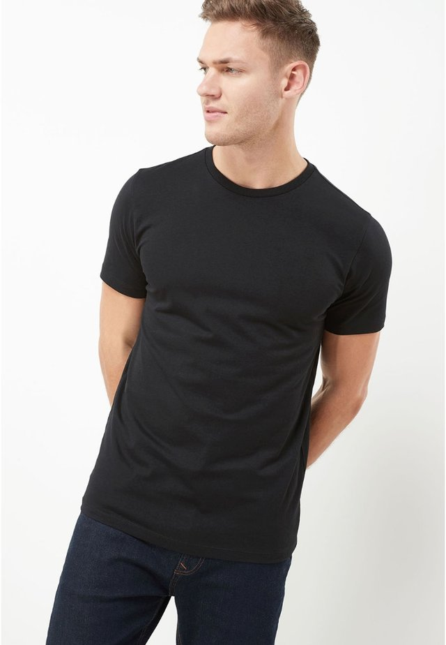 CREW - T-shirt basique - black