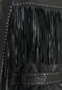 Ibana - JANICE - Leather jacket - black - 2