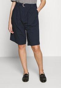 esmé studios - VERA SHORTS - Shorts - dark sapphire - 0