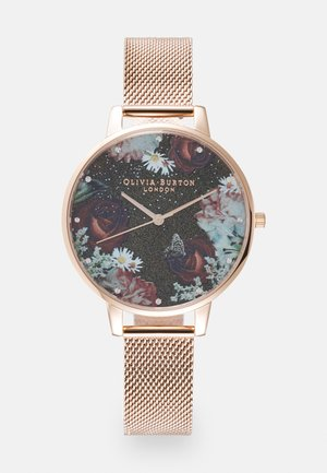 WINTER BLOOMS - Watch - roségold-coloured