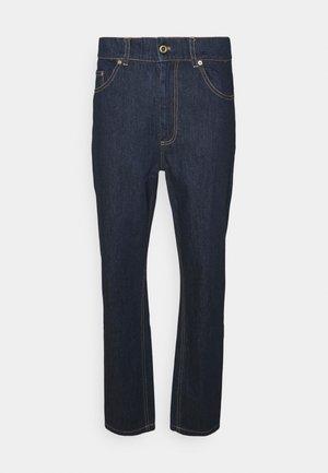 CLASSIC LOGO PANTS - Straight leg jeans - dark blue