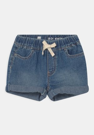 TODDLER GIRL - Denim shorts - dark-blue denim