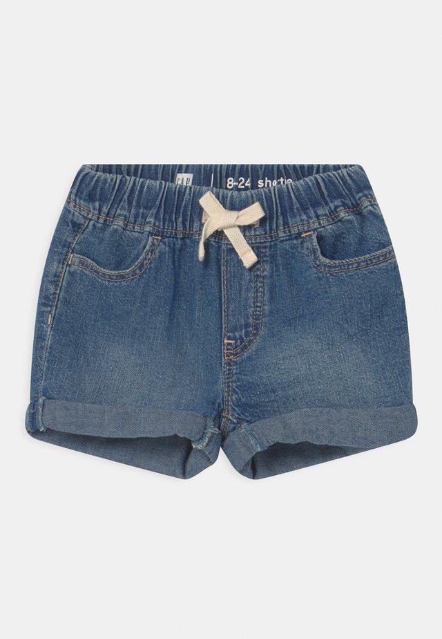 TODDLER GIRL - Shorts di jeans - dark-blue denim