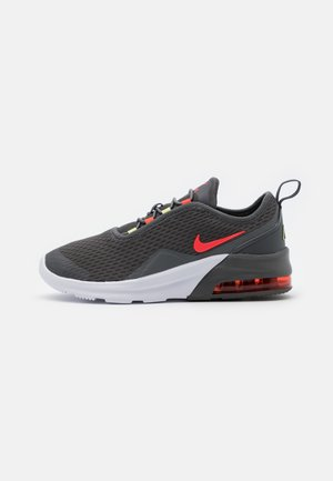 AIR MAX MOTION 2 - Slip-ons - iron grey/bright crimson/limelight/white