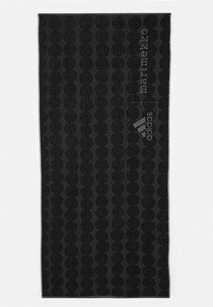 TOWEL L UNISEX - Handtuch - black/carbon