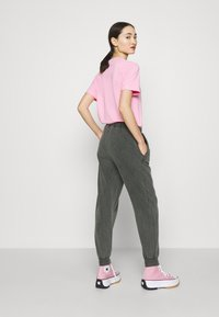 Topshop - ACID WASH  - Tracksuit bottoms - charcoal - 3