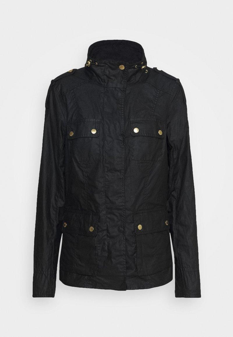 Barbour International - DELTA - Summer jacket - black