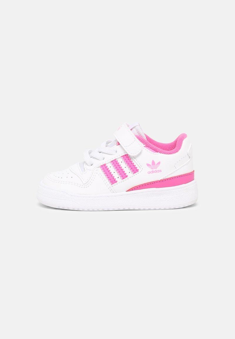 adidas Originals - FORUM UNISEX - Sneakers basse - white/screaming pink