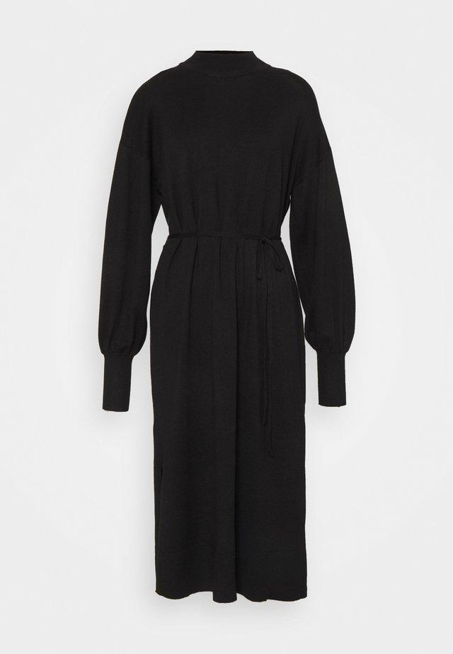 DRESS MIMMIE - Vestido de punto - black