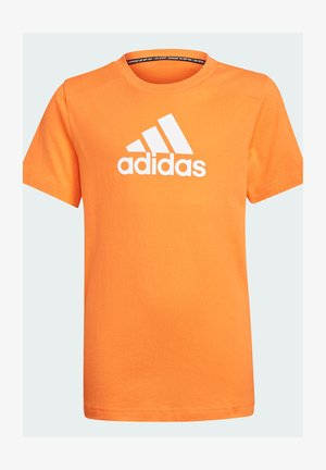 LOGO  - T-shirt print - orange