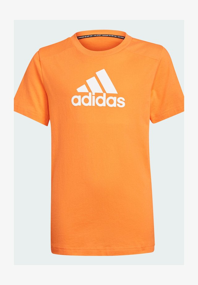LOGO  - Print T-shirt - orange