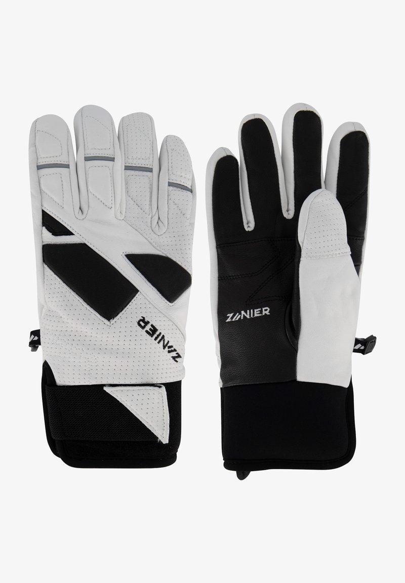 Zanier - Gloves - weiss-schwarz