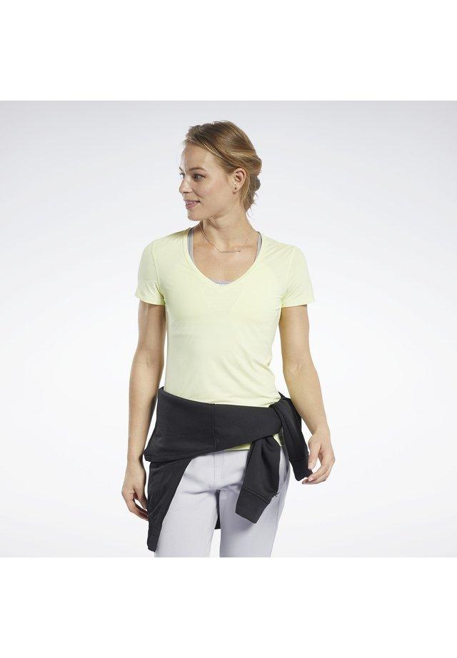 ACTIVCHILL TEE - Basic T-shirt - yellow