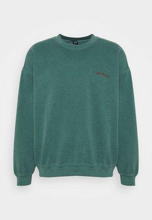 CREWNECK UNISEX - Sweatshirt - deep grass green