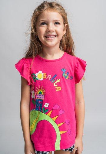 DANFORTH - Print T-shirt - pink