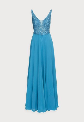 Suknia balowa - steele blue