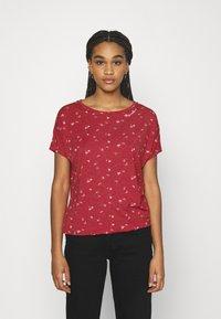 Ragwear - PECORI - Print T-shirt - red - 0