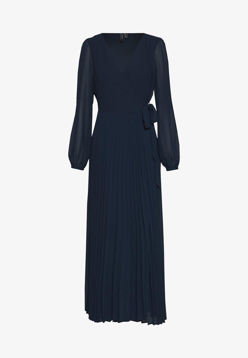 Vero Moda - VMLAUREN WRAP DRESS - Koktejlové šaty/ šaty na párty - navy blazer