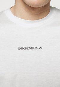 Emporio Armani - EXCLUSIVE  - Basic T-shirt - white - 5