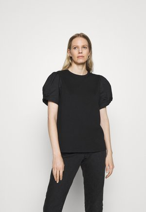 MIX PUFF - T-shirts med print - true black
