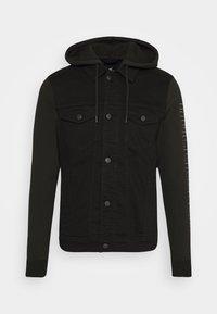 Hollister Co. - NEW TECH LOGO - Denim jacket - black - 0