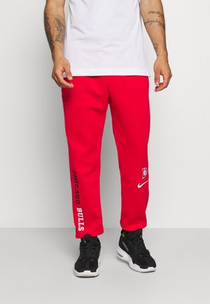 NBA CHICAGO BULLS THERMAFLEX PANT - Træningsbukser - university red/black/white