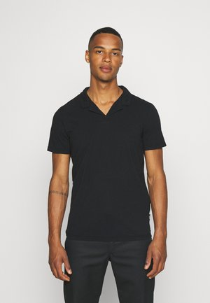 RESORT COLLAR  - Polo shirt - black
